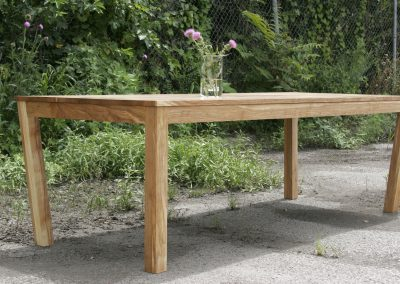 5 Degree Parsons Dining Table