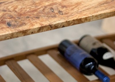 Spalted Maple Console
