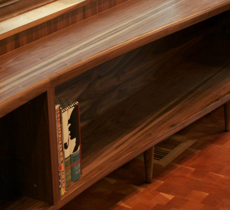 Sine Wave Bookcase