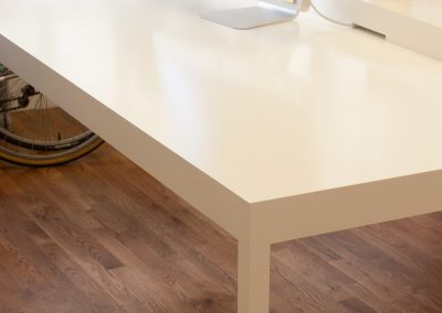 White parsons tables