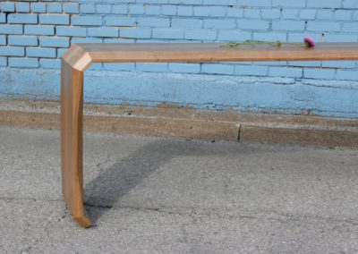Bow Legged Sofa table