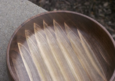 Flaming Sapwood Bowl