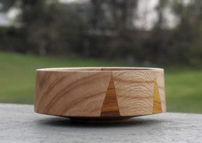 Pin oak with teeth