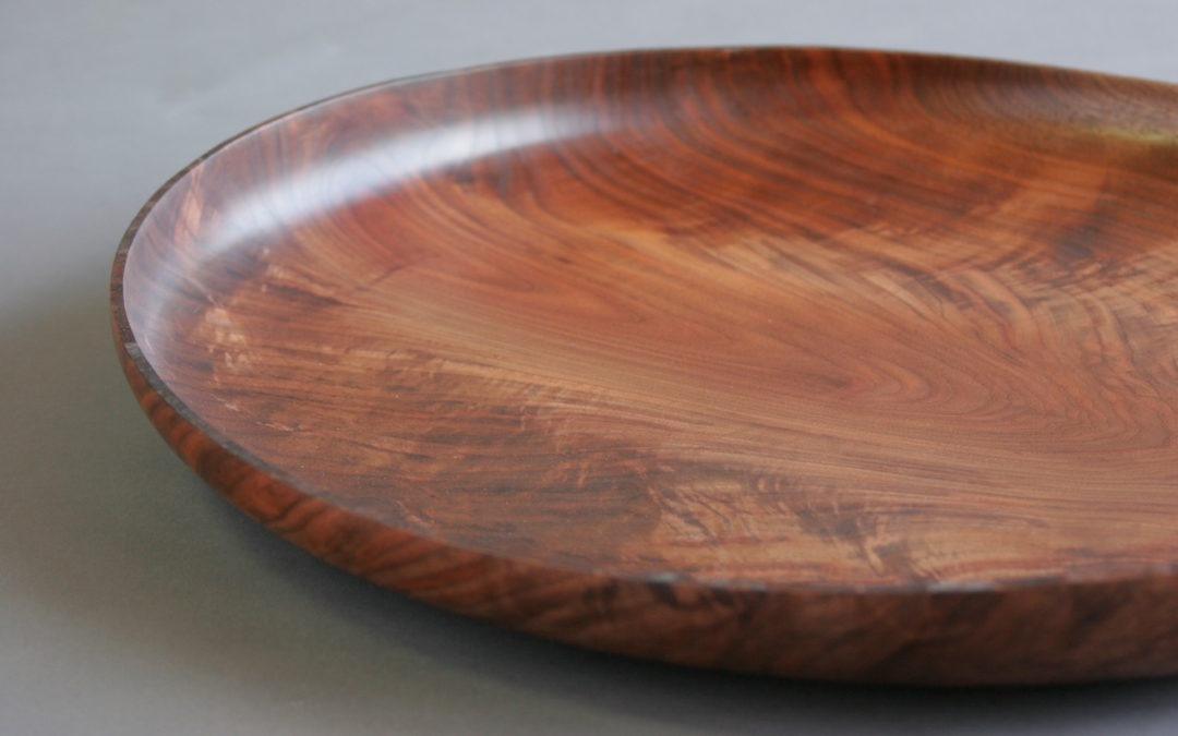 Walnut Double Crotch Platter