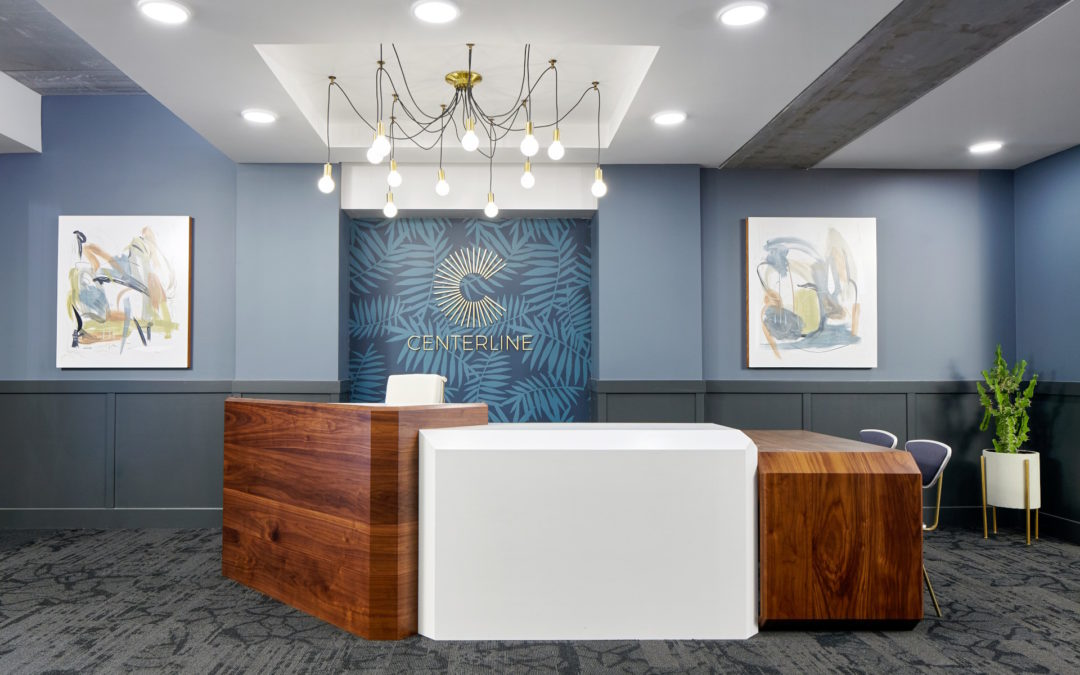 Centerline Reception Desk