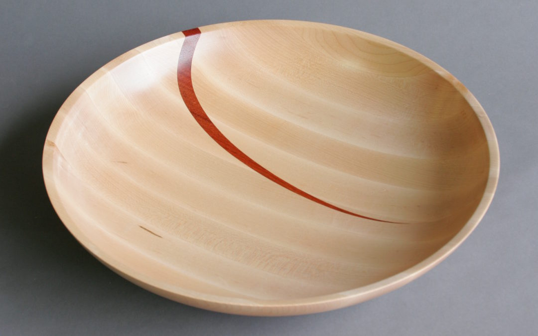 Bowl Maple Padauk Stroke